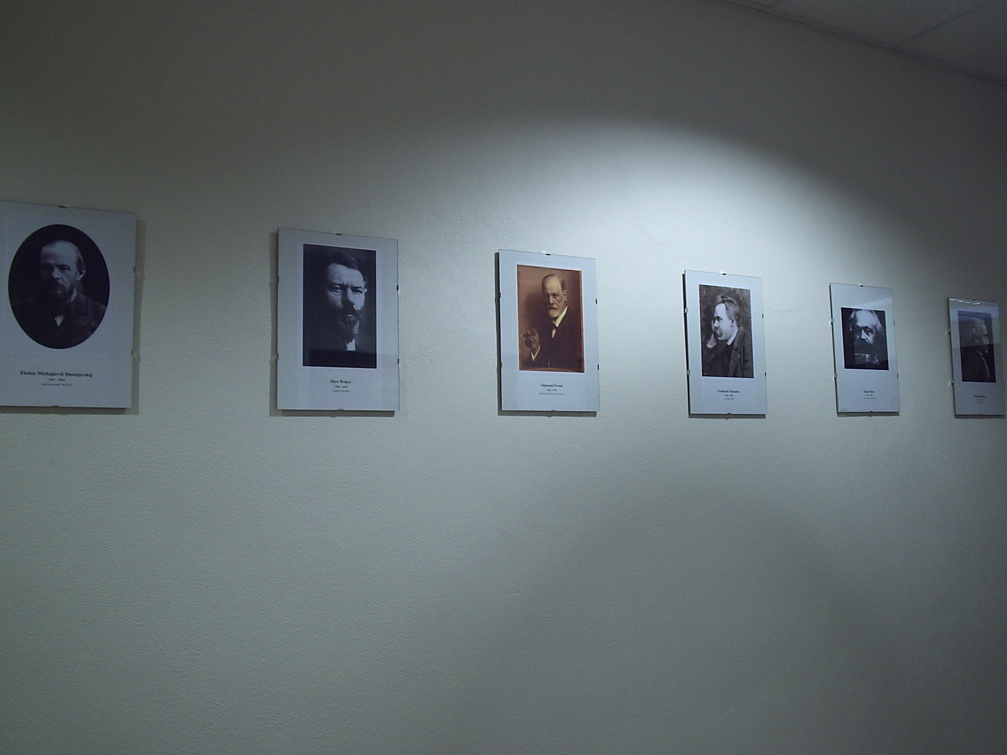 Galéria pri katedre politológie