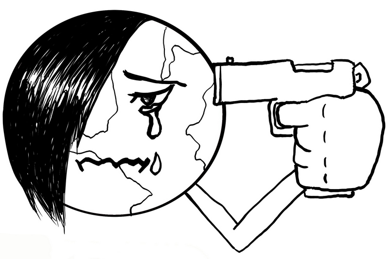 Zemeguľa samovražda