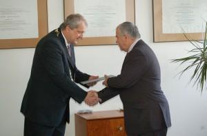 Rektor Vozár pri vymenúvaní docentov