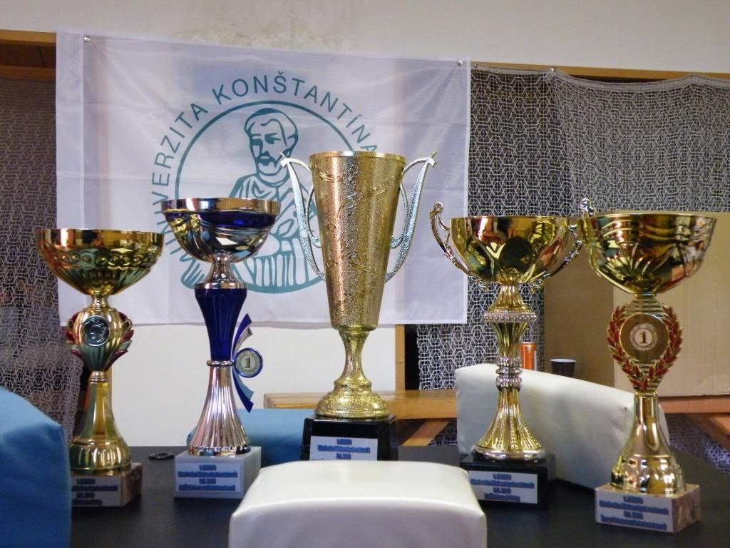 Tieto cenné trofeje motivovali súťažiacich k výkonom.