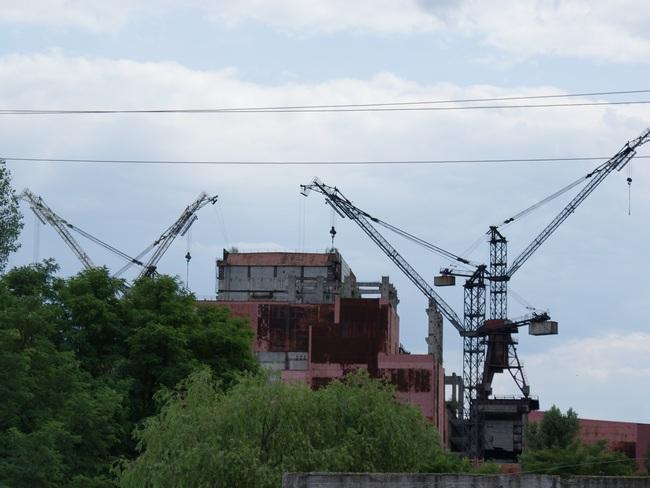 Nedostavaný blok jadrovej elektrárne