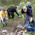 Jarné čistenie Zobora 2010 (2)