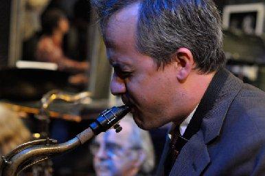 Chris Byars a jeho saxofón
