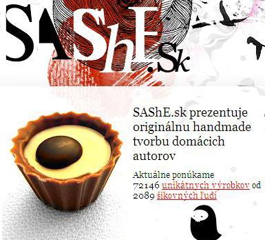 Sashke.sk - handmade dizajn pre každého