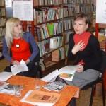 Mgr. Jitka Rožňová rozprávala žiakom o práci žurnalistu.
