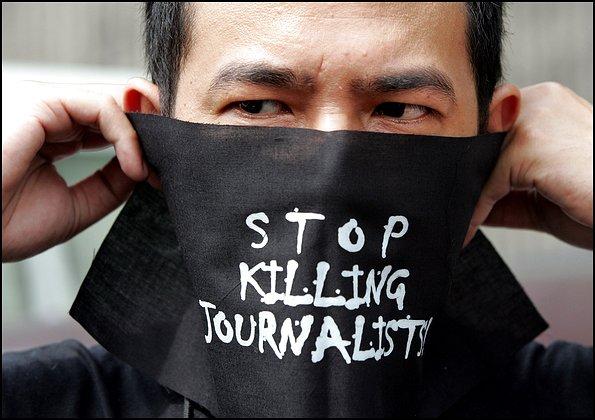 Povolanie žurnalistu je v mnohých prípadoch naozaj rizikové.