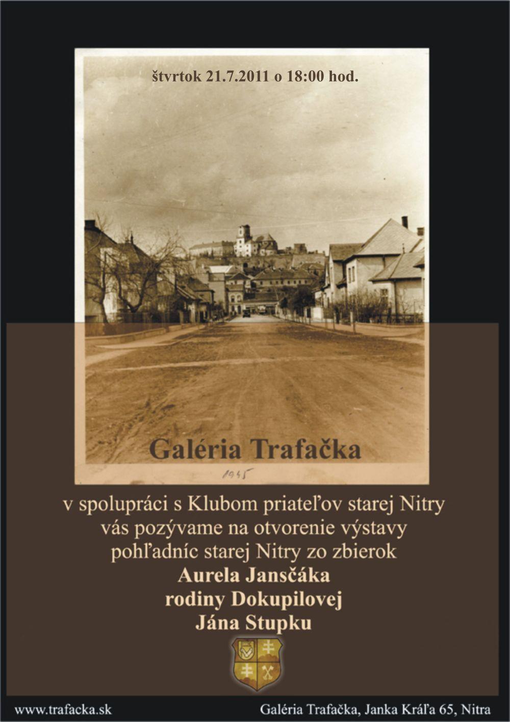 Trafačka - Pohľadnice starej Nitry