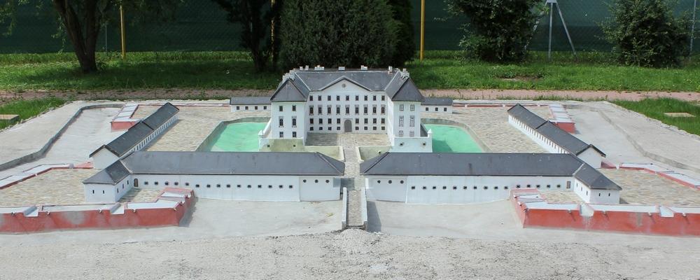 43-tonový model Holíčskeho zámku