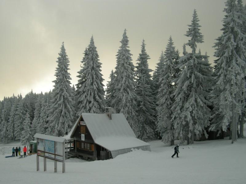 Martinské hole pod snehom