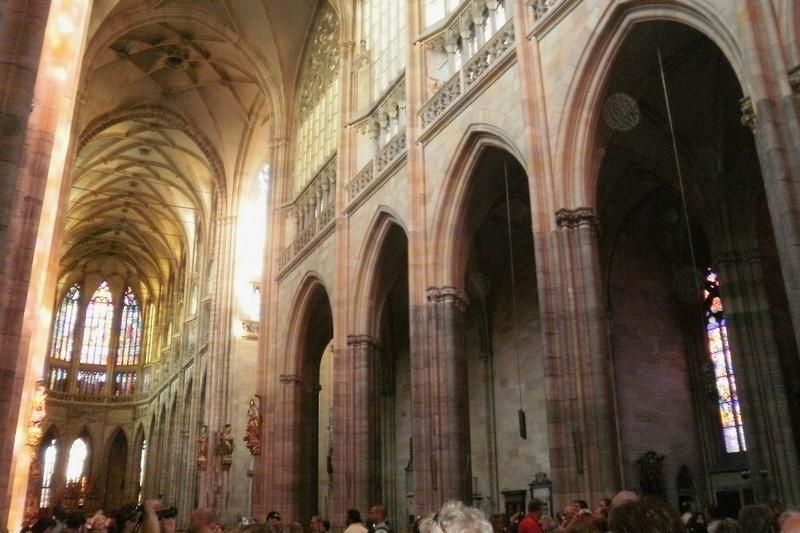 Interiér Katedrály sv. Víta, Praha