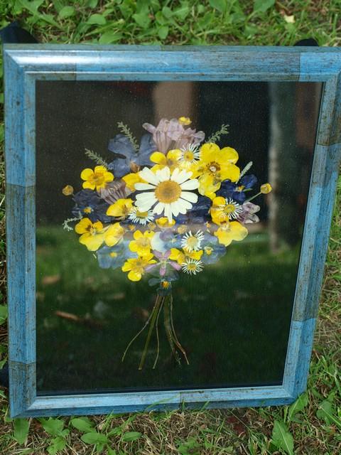 9 Kytica z lisovaných kvetov (Petra Čergeťová)