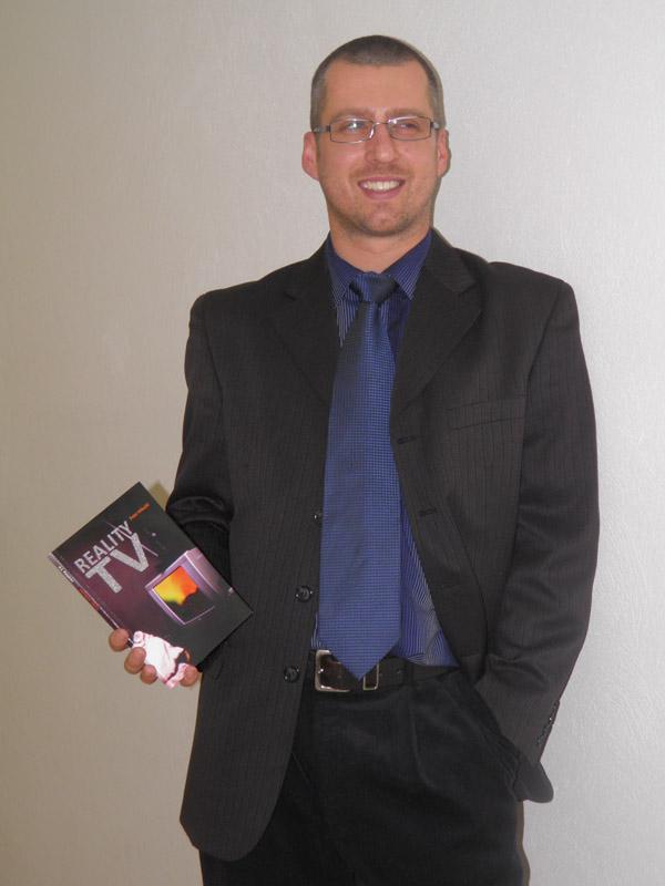 Peter Mikuláš so svojou knihou Reality TV