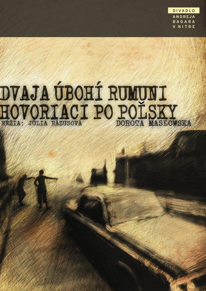Plagát Dvaja úbohí Rumuni hovoriaci po poľsky