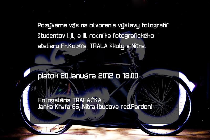 Výstava študentov Tralaškoly v Nitre (pozvánka)