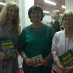 Autorky Brasil  Brazília, zľava Katarína Habánová, Eva Hanzelyová a Anna Koláriková
