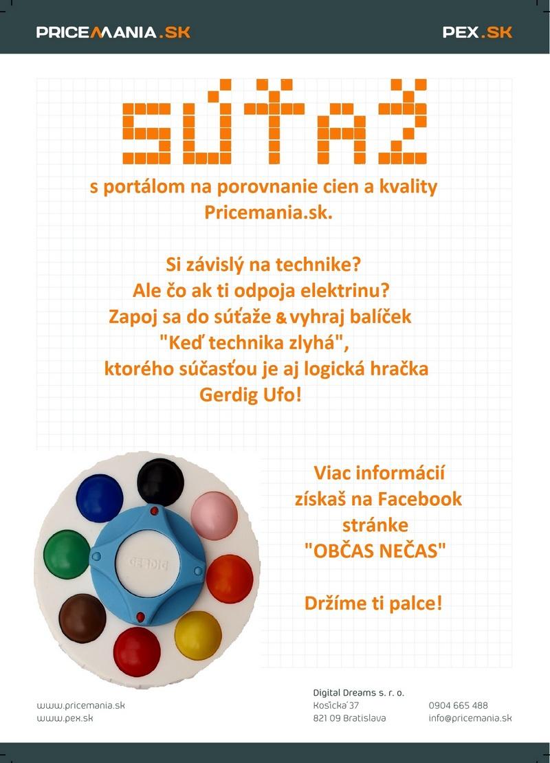 Súťaž s Pricemania.sk