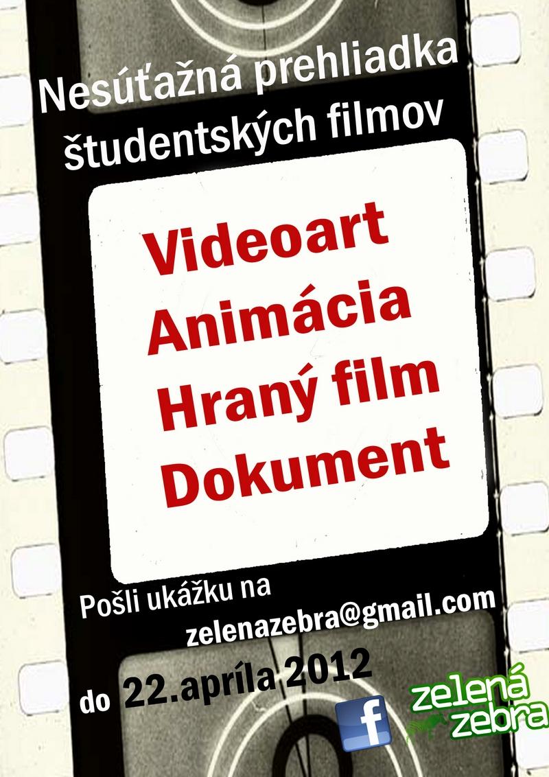 Zelená Zebra - Videoart+animácia+hraný film+dokument