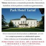 Park Hotel Tartuf - promócie 2012