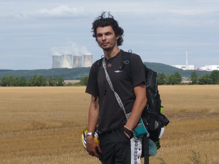 Michal na ceste do Budapešti