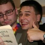 Tomáš (vľavo) s kamarátom