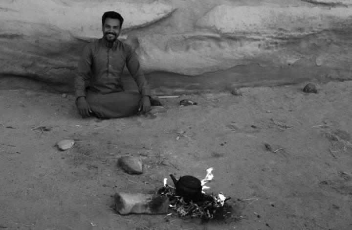Čaj v jordánskej púšti