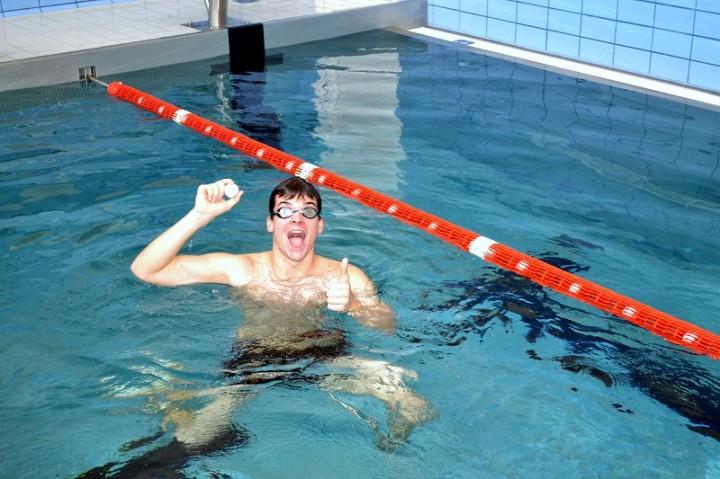 plavecká súťaž