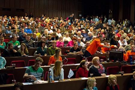 Plná sála - aj taký bol festival VHN 2012