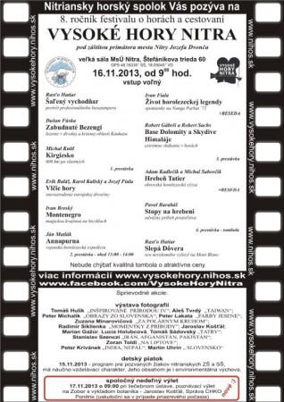 Program VHN 2013
