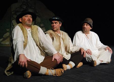 Ivan Gontko (vľavo) v predstavení Slovenský betlehem