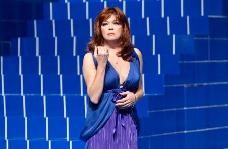 Daniela Kuffelová ako Rosaura v Prefíkanej vdove