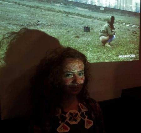 Erika Mészáros so svojím videom