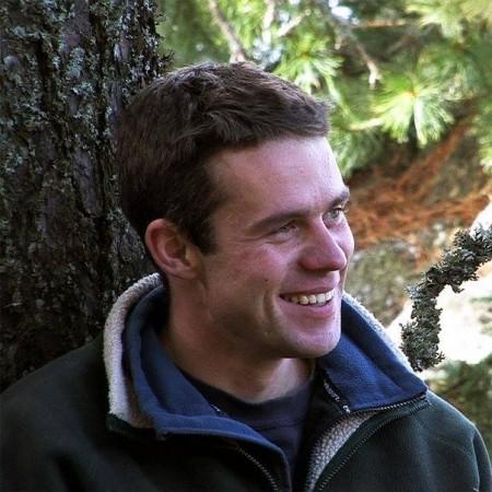 Erik Baláž, jeden z tvorcov filmu Vlčie hory (archív E.B.)