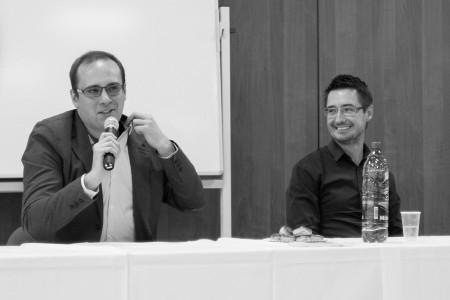 Pavol Rajtar odpovedal na otázky študentov v rámci cyklu workshopow V dotyku s médiami