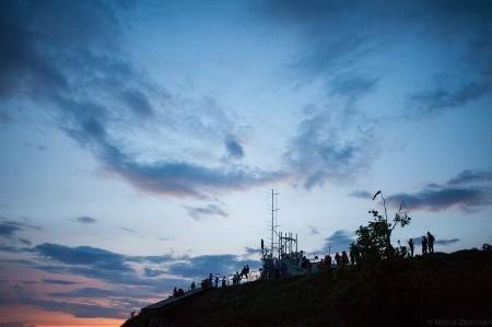 nočný výstup na Zobor 2014 (2)
