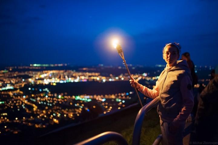 nočný výstup na Zobor 2014 (3)
