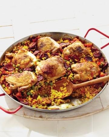 Paella - španielske národné jedlo