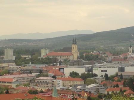 Z Kalvárie je krásny panoramatický výhľad na Nitru a široké okolie