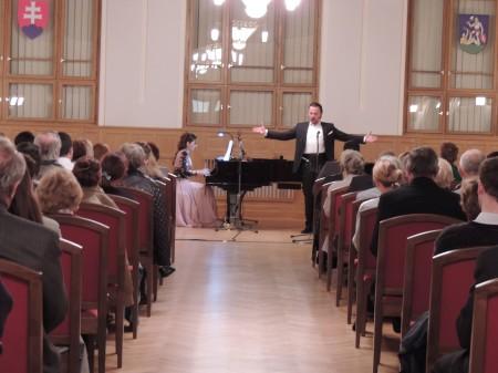 Komorný koncert - Štefan Kocán a Dagmar Duždová (1)