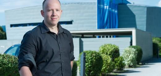 Absolvent UKF Vladimír Krumpál dnes pracuje ako disponent v rakúskej spoločnosti Tirolia