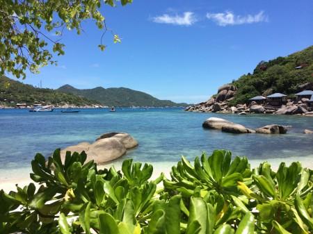 Ostrov Koh Nangyuang, najkrajší ostrov spomedzi všetkých navštívených destinácií v Thajsku. Jeden z dôvodov, prečo sa vrátiť.