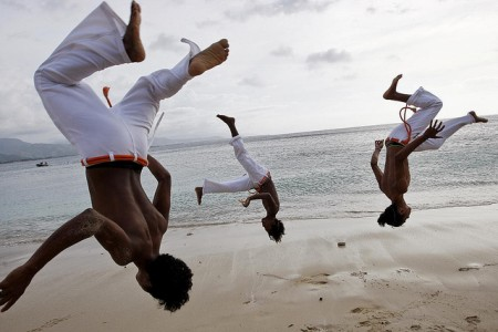 Capoeira Practice on Dili Beach
