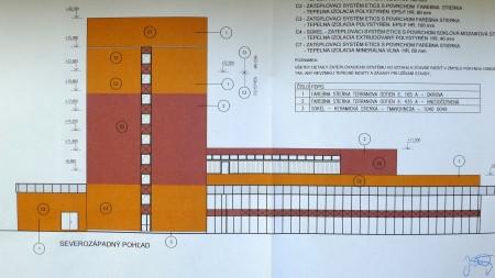 Vizualizácia objektu ŠD Nitra zo zadnej strany
