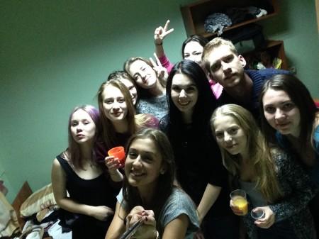 Nitrianski a ruskí študenti na internáte