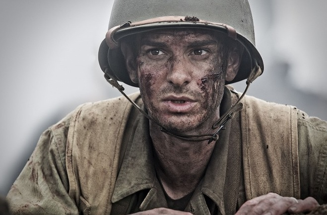 Andrew Garfield ako Desmond Doss, foto: Summit Entertaiment