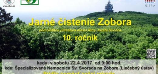 Jarne cistenie Zobora 2017
