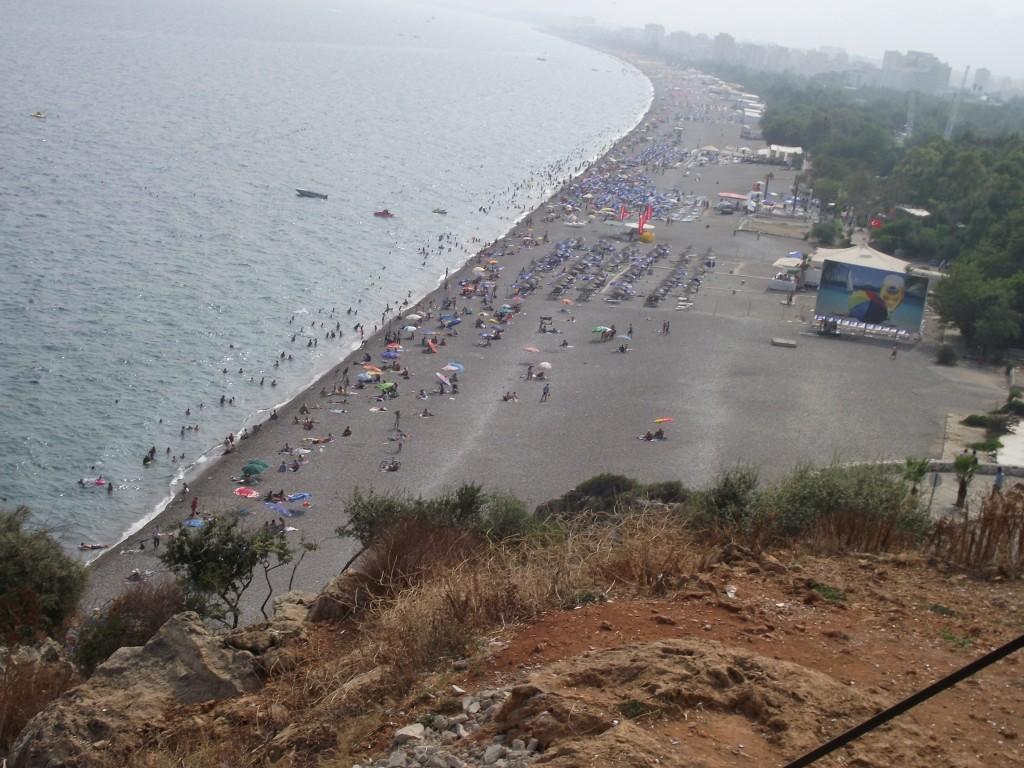 Turecko-beach-park