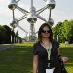 Slavomíra Gašperová si výlet do Bruselu naozaj užila.