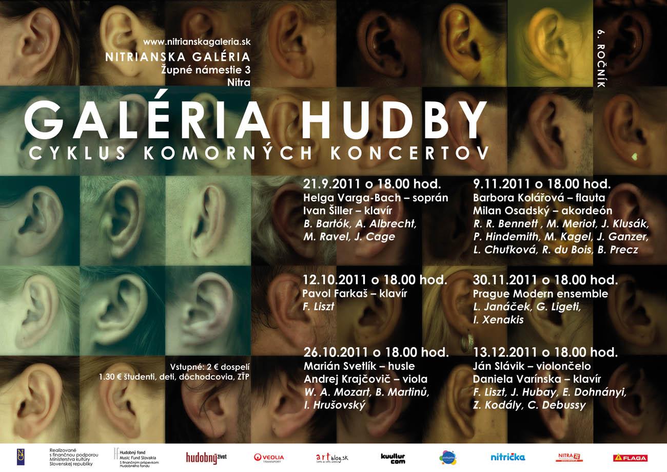 Galéria hudby 2011 - 2. polrok