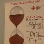 Študentská kvapka krvi 2011
