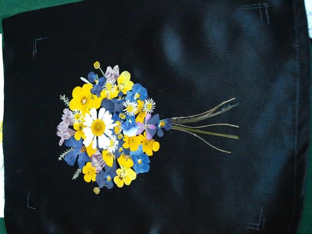 6 Kytica z lisovaných kvetov (Petra Čergeťová)